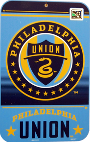 PHILADELPHIA UNION SOCCER SIGN