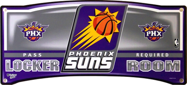 PHONIX SUNS BASKETBALL LOCKER ROOM SIGN