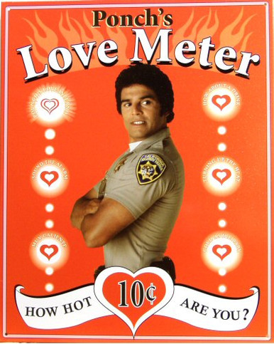 PONCH'S LOVE METER SIGN