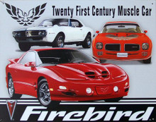 PONTIAC FIREBIRD 21ST CENTURY SIGN