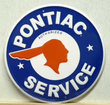 PONTIAC SERVICE SIGN