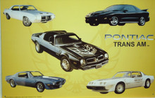 PONTIAC TRANS AM SIGN