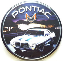 PONTIAC TRANS AM ROUND SIGN