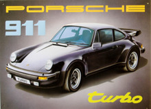 PORCHE 911 TURBO SIGN