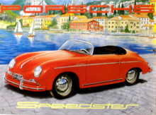 PORCHE SPEEDSTER SIGN
