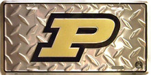 PURDUE BOILDERMAKERS COLLEGE LICENSE PLATE