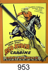 RED RYDER CARBINE SIGN