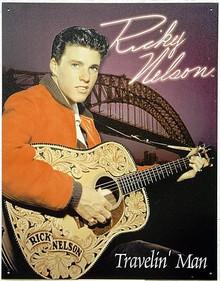 R. NELSON TRAVELIN MAN MUSIC SIGN
