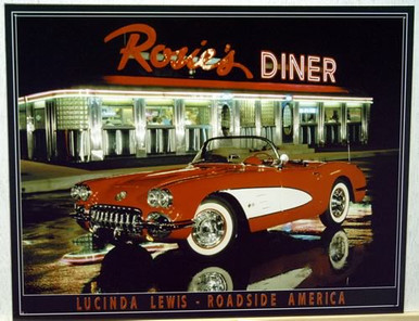 ROSIE'S DINER CORVETTE SIGN