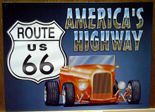 ROUTE 66 ROADSTER SIGN
