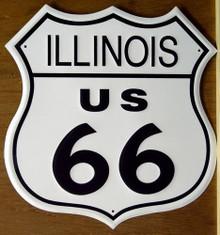 RT 66 ILLINOIS SIGN