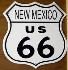 RT 66 NEW MEXICO SIGN