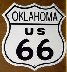 RT 66 OKLAHOMA SIGN