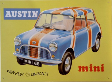 Photo of AUSTIN MINI SIGN FOR THE AUSTIN FAN'S COLLECTION