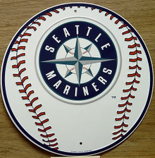 SEATTLE MARINERS BASEBALL SIGN