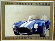 SHELBY COBRA MUSTANG SIGN
