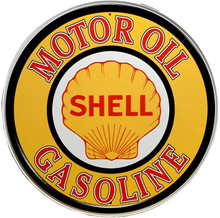 SHELL GAS & OIL SIGN