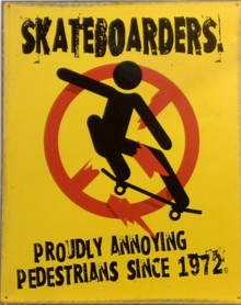 SKATEBOARDS SIGN