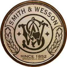SMITH & WESSON ROUND PISTOL SIGN