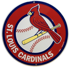 St. Louis Cardinals round Baseball Sign