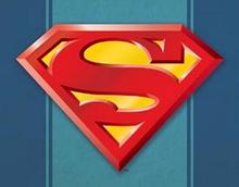 SUPERMAN LOGO SUPER HERO SIGN