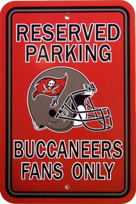 TAMPA BAY BUCCANEERS FAN PARKING