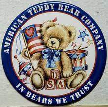 TEDDY BEAR AMERICAN SIGN
