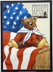 TEDDY BEAR TOYS  SAM SIGN