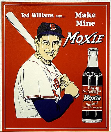 TED'S MOXIE SIGN