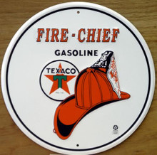 TEXACO FIRE CHIEF GAS SIGN