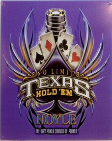 TEXAS HOLD'EM POKER SIGN