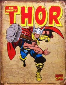 THOR RETRO SUPER HERO SIGN