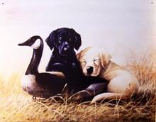 THREE'S COMPANY DOG SIGN