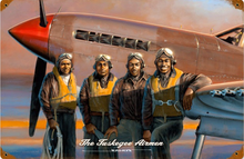 TUSKEGEE AIRMEN  ETHNIC sublimation process Sign