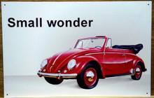 VW CABRIOLET SIGN