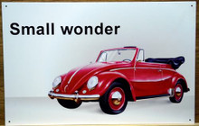 VW CABRIOLET SIGN Only two left