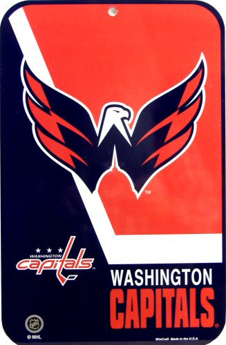 WASHINGTON CAPITALS HOCKEY SIGN