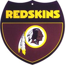WASHINGTON REDSKINS FOOTBALL INTERSTATE SIGN