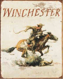 WINCHESTER RIDER SIGN