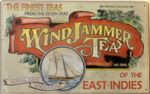 WINDJAMMER TEA SIGN
