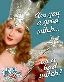 """Photo of WIZARD OF OZ """"ARE YOU A GOOD WITCH.. THE ONLY METAL SIGN WITH ONLY THE GOOD WITCH"""
