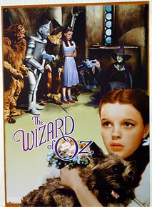 Photo of WIZARD OF OZ DORTHY & TOTO SIGN HAS BEEN OUT OF PRINT FOR YEARS, ONLY A FEW LEFT