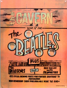 Photo of BEATLES CAVERN CLUB SIGN, WHERE THE BEATLES GOT THEIR BIG BREAK, AND THE REST IS HISTORY