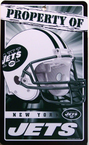 SMALL, COLORFUL NEW YORK  JETS FAN PARKING ONLY SIGN GREAT ADDITION FOR WHEREVER THE FAN PARKS