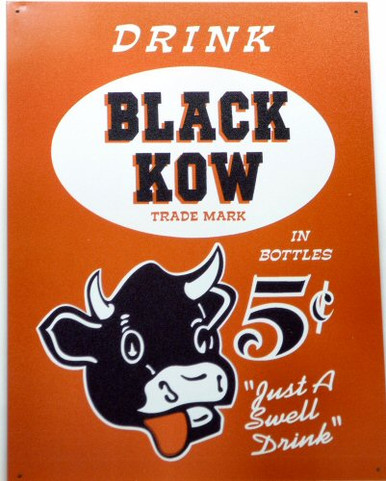 Photo of BLACK KOW DRINK SIGN