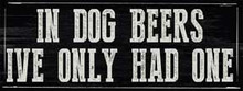 """THIS ENAMEL FINISH ON HEAVY METAL SIGN MEASURES 16"""" W X 6"""" H  WITH HOLES IN EACH CORNER FOR EASY MOUNTING."""