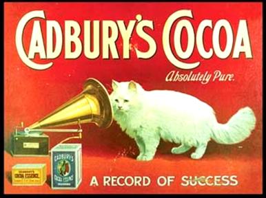 Photo of CADBURY COCOA CAT RICH ENAMEL FINISH