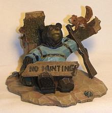 "BEAR NOT HUNTING? 3 3/4"" X 5"" X 3 1/4"""