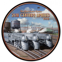 "HEAVY METAL VINTAGE  (SUBLIMATION PROCESS) SIGN MEASURES 14"" DIAMETER WITH HOLES FOR EASY MOUNTING  WEIGHS APOX. 2 POUNDS  THIS IS A SPECIAL ORDER SIGN, NORMALLY TAKES 2-4 WEEKS FOR DELIVERY."