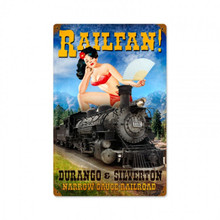 """HEAVY METAL VINTAGE SIGN (SUBLIMATION PROCESS)  MEASURES 8"""" X 14"""" WEIGHS APOX. 1 POUND WITH HOLES IN EACH CORNER FOR EASY MOUNTING    THIS IS A SPECIAL ORDER SIGN, NORMALLY TAKES 2-4 WEEKS FOR DELIVERY.  CORNERS RUSTED FOR ANTIQUED LOOK"""
